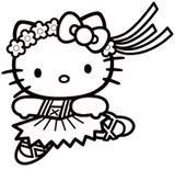 Imprimer le coloriage : Hello Kitty, numéro eca84286