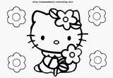 Imprimer le coloriage : Hello Kitty, numéro fe8f1bbe