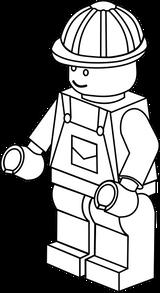 Imprimer le coloriage : Lego, numéro 390831