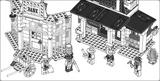 Imprimer le coloriage : Lego, numéro 434470