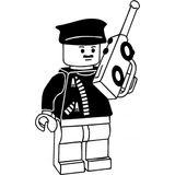 Imprimer le coloriage : Lego, numéro 677099