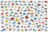 Imprimer le dessin en couleurs : Lego, numéro 76054