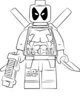 Imprimer le coloriage : Lego, numéro db2be13e
