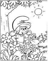Imprimer le coloriage : Les Schtroumpfs, numéro 218