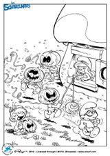 Imprimer le dessin en couleurs : Les Schtroumpfs, numéro 336722