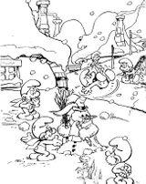 Imprimer le coloriage : Les Schtroumpfs, numéro 463629
