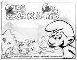 Imprimer le coloriage : Les Schtroumpfs, numéro 4638