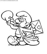 Imprimer le coloriage : Les Schtroumpfs, numéro 4646