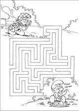 Imprimer le coloriage : Les Schtroumpfs, numéro 5833