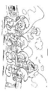 Imprimer le coloriage : Les Schtroumpfs, numéro 8668