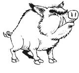 Imprimer le coloriage : Schtroumpf costaud, numéro 113951