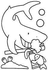 Imprimer le coloriage : Schtroumpf costaud, numéro 230882