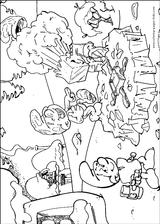 Imprimer le coloriage : Schtroumpf costaud, numéro 233698