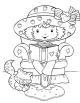 Imprimer le coloriage : Schtroumpf gourmand, numéro 1f54bd53