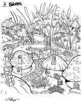 Imprimer le coloriage : Schtroumpf gourmand, numéro 27511