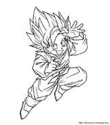Imprimer le coloriage : Dragon Ball, numéro 129112