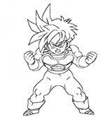 Imprimer le coloriage : Dragon Ball, numéro 169