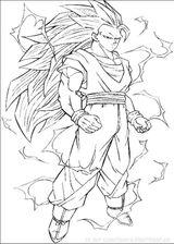 Imprimer le coloriage : Dragon Ball, numéro 17485