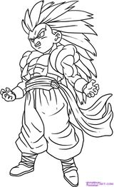 Imprimer le coloriage : Dragon Ball, numéro 17861