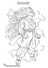 Imprimer le coloriage : Dragon Ball, numéro 17862