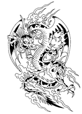 Imprimer le coloriage : Dragon Ball, numéro 3199