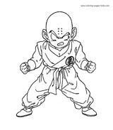 Imprimer le coloriage : Dragon Ball, numéro 678165