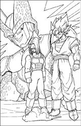 Imprimer le coloriage : Dragon Ball, numéro 7554