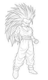 Imprimer le coloriage : Son Goku, numéro 142131