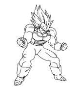 Imprimer le coloriage : Son Goku, numéro 23603