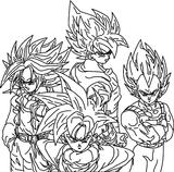 Imprimer le coloriage : Son Goku, numéro 2636