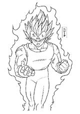Imprimer le coloriage : Son Goku, numéro 2730
