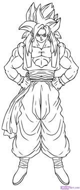 Imprimer le coloriage : Son Goku, numéro 282095
