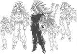 Imprimer le coloriage : Son Goku, numéro 29111