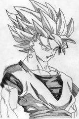 Imprimer le coloriage : Son Goku, numéro 307494