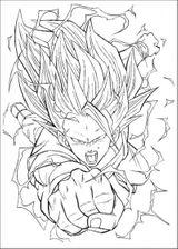Imprimer le coloriage : Son Goku, numéro 6736