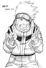 Imprimer le coloriage : Naruto numéro 14553
