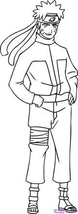 Imprimer le coloriage : Naruto numéro 14567