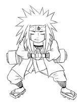Imprimer le coloriage : Naruto numéro 14576