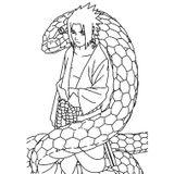 Imprimer le coloriage : Naruto numéro 23716