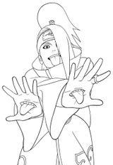 Imprimer le coloriage : Naruto numéro 55184