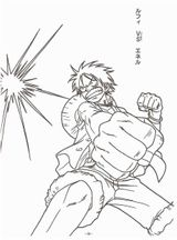 Imprimer le coloriage : One Piece, numéro 52c1bd65