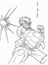 Imprimer le coloriage : One Piece, numéro 5725cd52