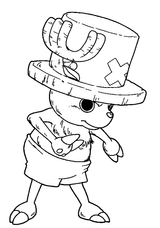 Imprimer le coloriage : One Piece, numéro 6190