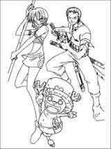 Imprimer le coloriage : One Piece, numéro 686983