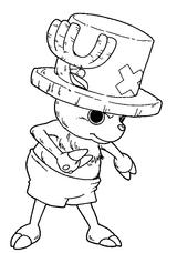 Imprimer le coloriage : One Piece, numéro 7410