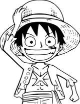 Imprimer le coloriage : One Piece, numéro e84c96dd
