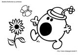 Imprimer le coloriage : Monsieur Madame, numéro 2523448