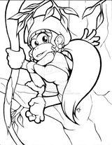 Imprimer le coloriage : Donkey Kong, numéro 15153