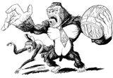 Imprimer le coloriage : Donkey Kong, numéro 15158