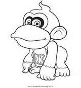 Imprimer le coloriage : Donkey Kong, numéro 2180